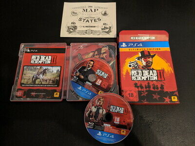 Red Dead Redemption 2 - Ultimate Edition / Sony PlayStation 4 , PS4 , Steelbook