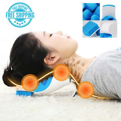 THERAPEUTIC /& CHIROPRACTIC NECK SUPPORT PILLOW MEMORY FOAM NEW ARRI ODUS FD