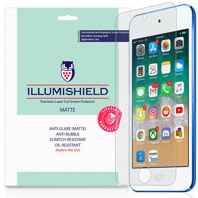 3x iLLumiShield Matte Screen Protector for Apple iPod Touch 7th Gen, 2019