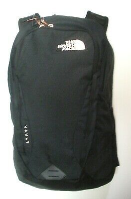 The North Face Womens Vault Backpack -Daypack- A3Kva - Tnf Black / Gold