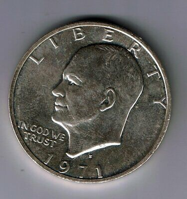 1971 S US USA silver One dollar coin : 24.1g
