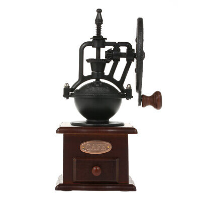 Manual Coffee Grinder Antique Coffee Mill Cast Iron Hand Crank with Grind T8G0