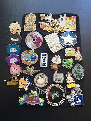 Disney Pin Lot including Star Wars, Toy Story, Mickey and more PLUS a USN anchor