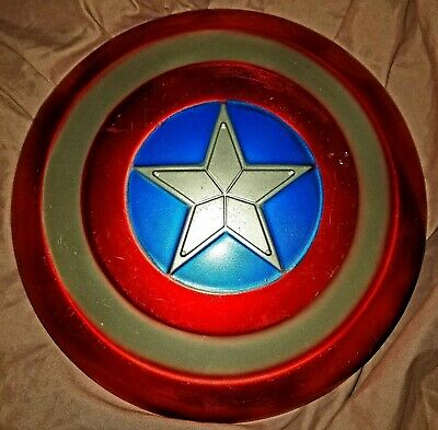Avengers Captain America Shield Cosplay Plastic Shield Halloween Costume Prop