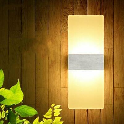 Modern Wall Lamp Up Down Cube Indoor Outdoor LED Sconce Light Lighting Home