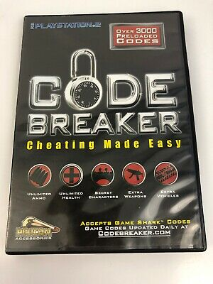 CODEBREAKER CHEATING MADE Easy Version 3 3 PS2 PlayStation 2