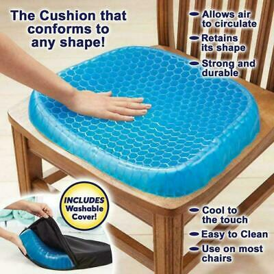 Breathable Egg Sitting Gel Flexing Cushion Seat Pillow Back Support Chair Pad US