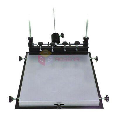 L Size Manual Solder Paste Printer Printing PCB SMT Stencil Printer 600x450mm