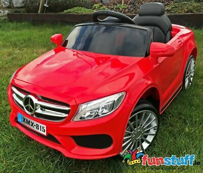 Mercedes Style- 12V Coupe Kids Electric Ride On Car Battery Powered Red