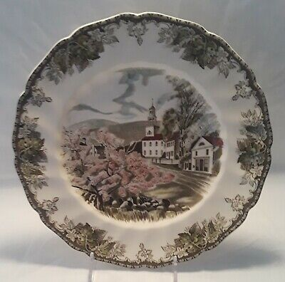 "Johnson Brothers Friendly Village 10¾"" Dinner Plate (The Village Green)"