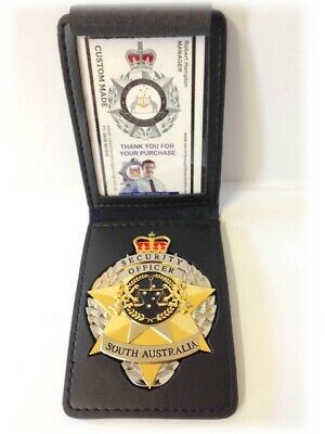 Security Badge SOUTH AUSTRALIA with ID Wallet - ENFORCER