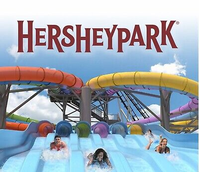 Hershey Park One Day Admission Tickets - Free Shipping-exp 9/19