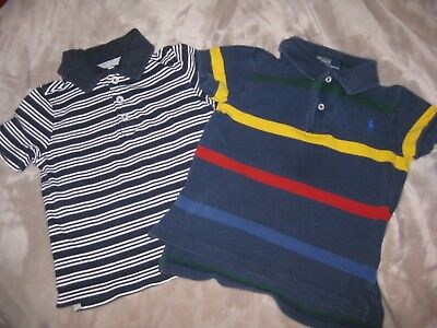 Adorable Lot of 2 Boys' Ralph Lauren and Old Navy Short Sleeved Shirts - Size 2T
