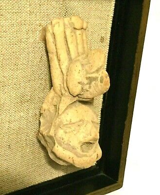 RARE ANCIENT ARTIFACT TERRACOTTA HEAD | Pre-Columbian ~ Huastec Culture ~ 500 BC