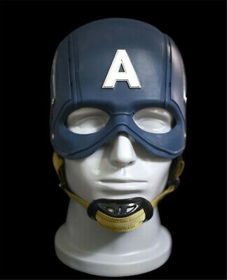 Captain America Cosplay For Scale Civil War Helmet 1/1  Mask Cos Prop Collection