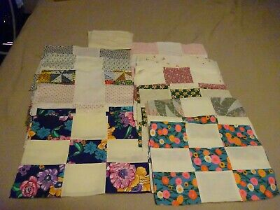 """34 Quilt Blocks 12 x 8.5"""" Finished Size"""