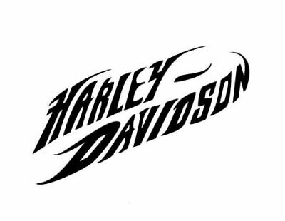 Harley Davidson vinyl decal sticker colors available