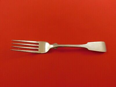 "Fiddle by Porter Blanchard Sterling Silver Dinner Fork 7 3/4"" Flatware"