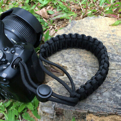 Strong camera adjustable wrist lanyard strap grip weave cord for para cord SC