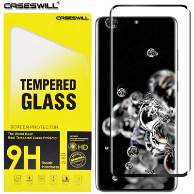 For Samsung Galaxy S10 Plus S10e FULL COVER 3D Tempered Glass Screen Protector