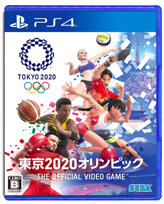 PS4 Tokyo 2020 Olympics The Official Video Game JAPAN F/S