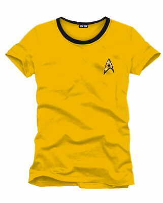 Star Trek T-Shirt Captain Kirk XL