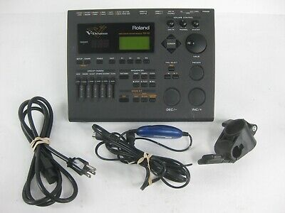 Roland TD-10 V-Drum Percussion Sound Module td10 + USB interface + Mount + Clamp