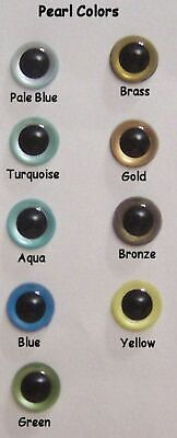 Sassy Bears 30mm BLACK Bear Safety Noses for bears dolls crafts 5 noses