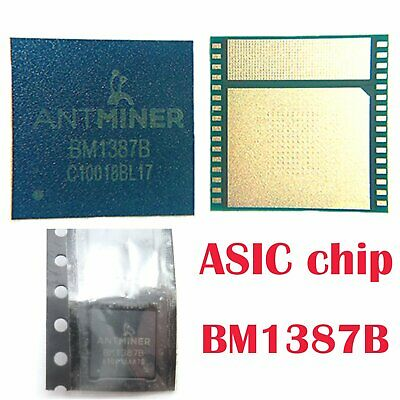 1 x ASIC Chip BM1387B for Antimeter S9 T9 S9I T9+ Bitcoin Miner Replacement Chip