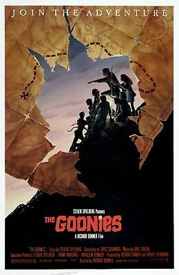 232799 The Goonies 1985 Movie Wall Print Poster Au