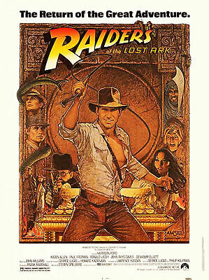 232895 Raiders Of The Lost Ark 1981 Movie Wall Print Poster Au