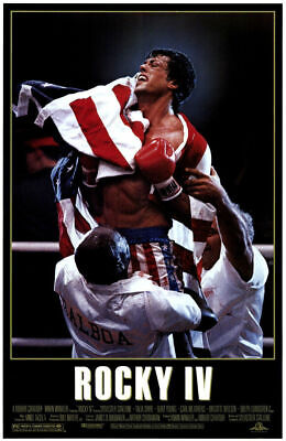 240781 ROCKY IV 4 Movie Stallone WALL PRINT POSTER AU