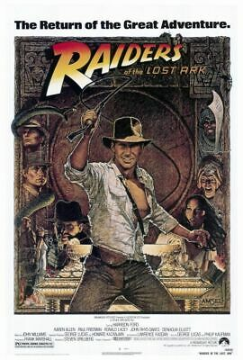 240935 RAIDERS OF THE LOST ARK Movie WALL PRINT POSTER AU