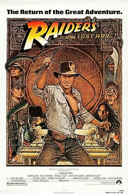 240737 Raiders Of The Lost Ark Movie WALL PRINT POSTER AU