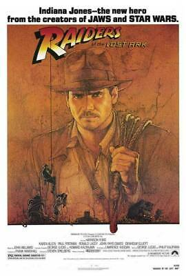 241053 RAIDERS OF THE LOST ARK Movie WALL PRINT POSTER AU