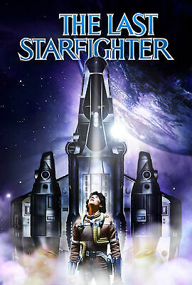 242893 The Last Star Fighter Movie Wall Print Poster Au