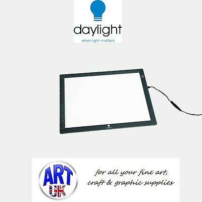 Daylight Artists Designers LED A4 Wafer 1 Lightbox Draw/Sketch/Copying