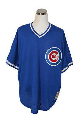 timeless design ac365 6b521 MITCHELL & NESS MLB Chicago Cubs Ryne Sandberg Cooperstown ...