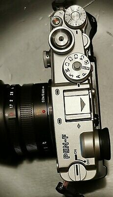 Olympus PEN-F 20.3 MP Digital Camera - Silver (Body Only) As new
