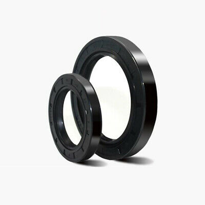 TC Wellendichtring mit Staublippe NBR Oil Seals Ring Dichtung ID=35 /& OD=45~80mm