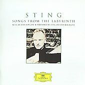 Sting - Songs from the Labyrinth (CD) FREE SHIPPING