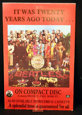 Sgt Peppers Lonely Hearts Club Band Beatles UK display promo PROMO DISPLAY