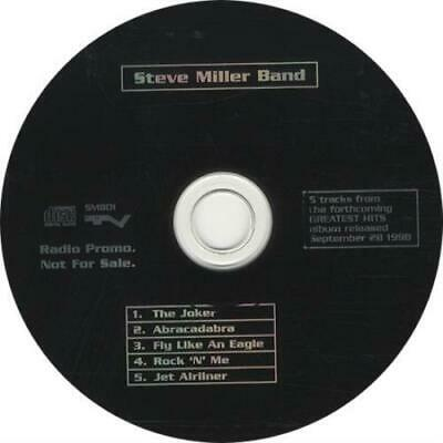 "Steve Miller Band 5 Tracks From The Forthcom... UK CD single (CD5 / 5"") promo"