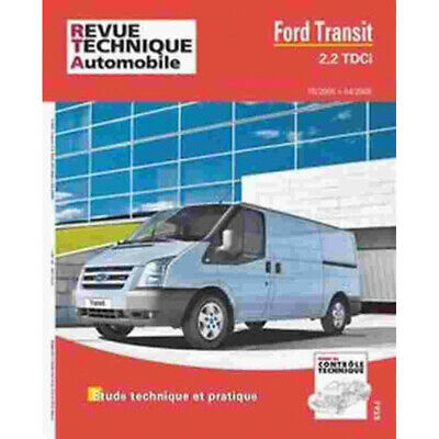 Revue Technique Ford Transit 2.2 Tdci - Rta Hs021 / 9782726829158
