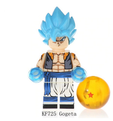 GOGETA GOKU DRAGON BALL - Rare Lego MiniFigures MARVEL Avengers Iron man 250297
