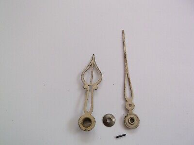 Pair Of Brass Hands From An Old Smiths Mantle Clock Ref Vic 104