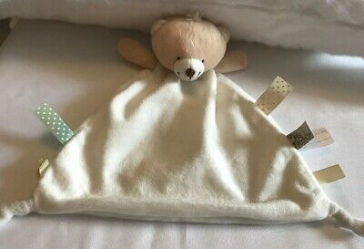 Bear comfort blanky baby Personalised My First Forever Friends Snuggle Blankie
