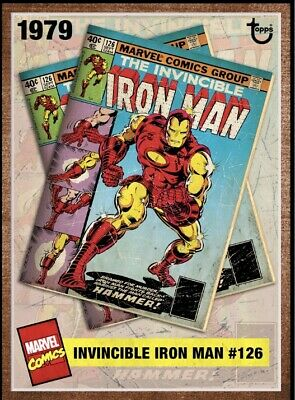 Topps Marvel Collect Card Trader Week 1 Iron Man Archive 1018cc Digital