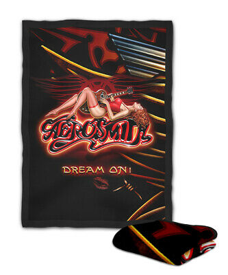 Aerosmith Dream On Girl Cover Blanket (40X30 inch) / (60x50 inch) / (80x60 inch)