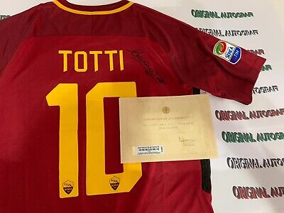 MAGLIA ROMA TOTTI NIKE last game 2017 Authentic version